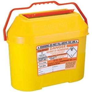 8 litre sharps bin