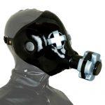 rad vinyl gas mask