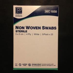 sterile swabs