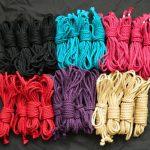 dyed linen hemp