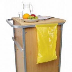 Yellow Clinical Waste Disposable Bags
